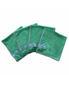 Flipper-nivo-microvezeldoek-groen